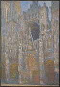 Claude Monet, Rouen Cathedral, the Façade in Sunlight.jpg