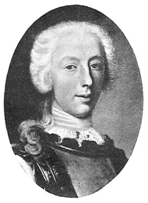 Claude Louis, Comte de Saint-Germain - Claude Louis de Saint Germain.
