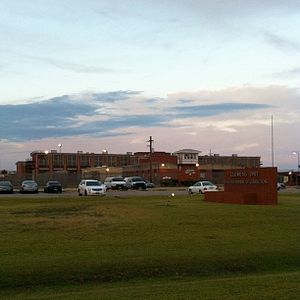 Brazoria County, Texas - Clemens Unit, one of several prisons in Brazoria County