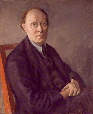 Clive Bell - Portrait of Clive Bell by Roger Fry