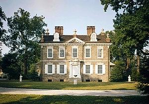Cliveden (Benjamin Chew House) - Image: Cliveden Mansion, Philadelphia, HABS PA 1184 88