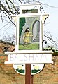 Close-up of Balsham village sign - geograph.org.uk - 745766.jpg