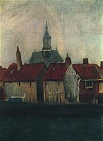 Cluster of Old Houses with the New Church in The Hague.jpg
