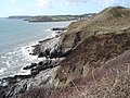 Coast path from Mumbles to Langland Bay - geograph.org.uk - 461032.jpg