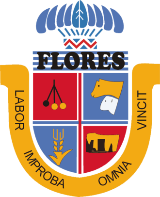 Flores Department - Image: Coat of arms of Flores Department