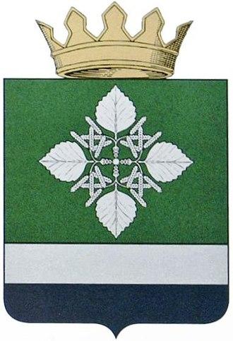 Olkhovsky District - Image: Coat of arms of Olkhovsky district 01