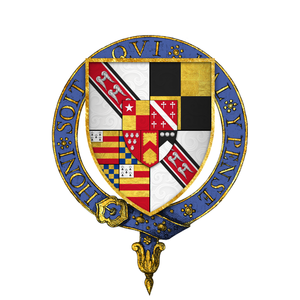 Anthony Wingfield - Arms of Sir Anthony Wingfield, KG
