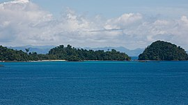 Coiba National Park, Panama (View from Isla Coiba) (8371374375).jpg