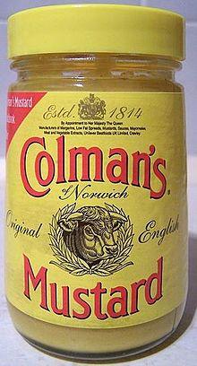 Vasetto di senape Colman's