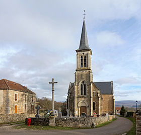 L'église de Colombier