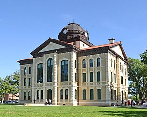 National Register of Historic Places listings in Colorado County, Texas - Image: Colorado County Courthouse 2