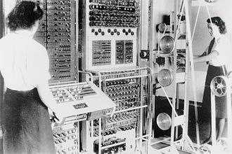 Signals intelligence - A Mark 2 Colossus computer. The ten Colossi were the world's first programmable electronic computers, and were built to break the German codes.