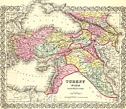 Colton, G.W. Turkey In Asia And The Caucasian Provinces Of Russia. 1856 (A).jpg