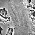 Columbia Glacier, Terminus and Distributary, Terentiev Lake, March 12, 1989 (GLACIERS 1438).jpg