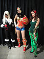 Comikaze Expo 2011 - Black Cat, Wonder Woman, and Poison Ivy (6324628905).jpg