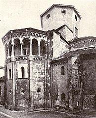 The church of San Fedele, apse area.
