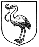 Fig. 471.—Stork holding in its beak a snake.