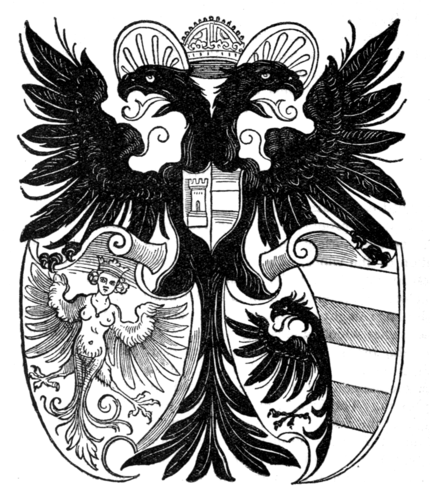 Fig. 671.—The Arms of Nürnberg.