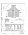 Congregational Church, Grafton, Windham County, VT HABS VT,13-GRAFT,1- (sheet 3 of 6).png