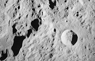 Conon (crater) - Image: Conon lunar crater