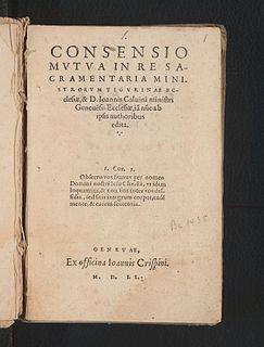 Consensus de Zurich, Suiza+ Calvino
