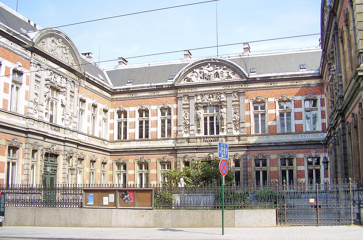 Conservatoire royal de bruxelles wikip dia - Ecole national superieur des arts decoratifs ...