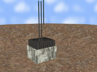 Shallow foundation type of building foundation