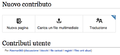 Content translation Nuovo contributo itwiki.png