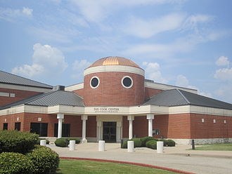 Navarro College - Cook Center -- Arts, Sciences, Technology -- at Navarro College houses the largest planetarium in Texas.