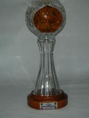 Roller Hockey Intercontinental Cup - 2007 trophy
