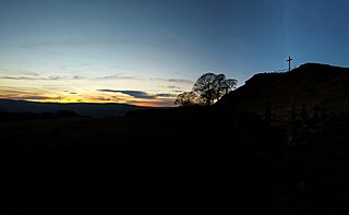 Corbar Hill Hill in the Derbyshire Peak District