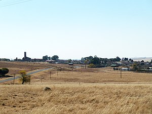Free State (province) - Cornelia in the Riemland region