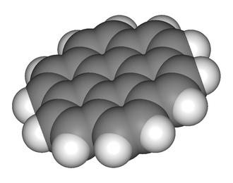 Coronene - Image: Coronene 3D