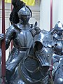Corps of Armored Knights greet visitors to the Metropolitan Museum of Art's armor exhibit (7) (855193882).jpg