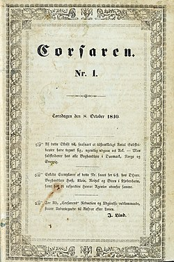 Corsaren - 1840 - Royal Danish Library.jpg
