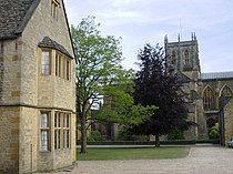 Courtyard in Sherborne school - geograph.org.uk - 487239.jpg