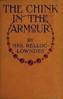 Marie Belloc Lowndes English novelist