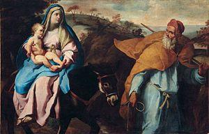Francesco Cozza (painter) - Image: Cozza Fuga in Egitto