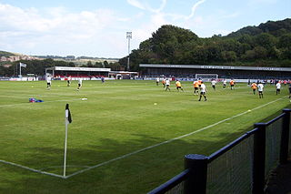 Crabble Athletic Ground Football stadium in River, Kent, England