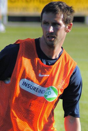 Craig Easton - Easton with Southend United in 2010
