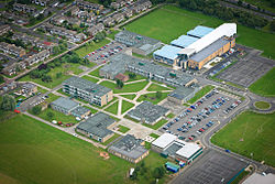 The CLV campus including all buildings: JLV, Inspire, Innovate, Imagine, Investigate, Learning Plaza, Applied Learning Centre, Sixth Form; as well as Inspire and Innovate Café.