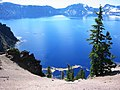 Crater Lake with Pine Pollen - panoramio.jpg