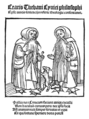 Cratis Thebani Cynici philosophi, 1501 - frontispiece.png