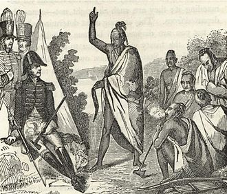 American Indian Wars - Treaty with the Creeks, Fort Jackson, 1814