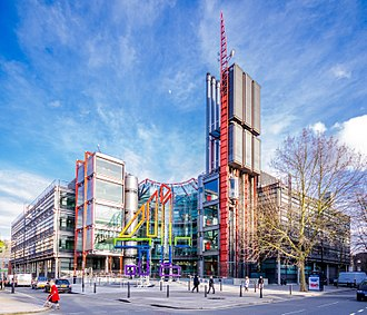 Channel 4 - Channel 4 headquarters, 124 Horseferry Road, London.