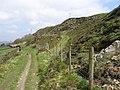 Cross Roads - path under Lees Moor Edge - geograph.org.uk - 1272824.jpg