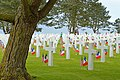 Crosses, Normandy American Cemetery and Memorial, June 2012.jpg
