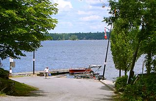 lake in Ontario, Canada