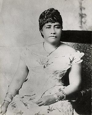 Hawaiian Music Hall of Fame - Image: Crown Princess Liliuokalani (PP 98 10 012)