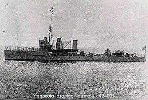 Greek cruiser Elli (1912) - Elli